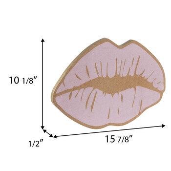 Pink Lips Corkboard