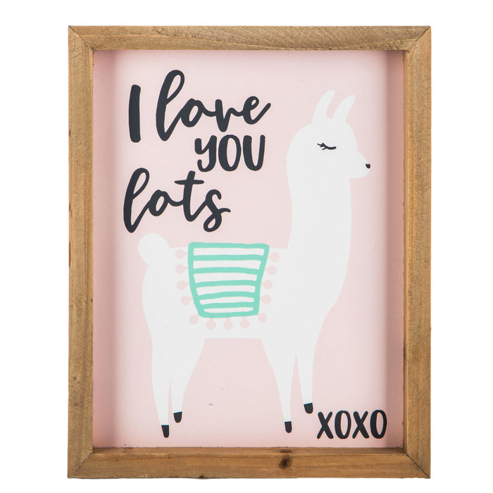 I Love You Lots Llama Wood Wall Decor Hobby Lobby 1641745