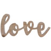Love Wood Decor
