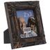 Antique Black Embossed Frame - 2 1/2