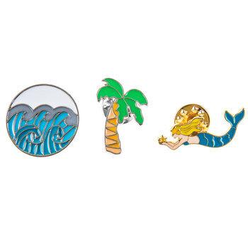 Mermaid Enamel Pins