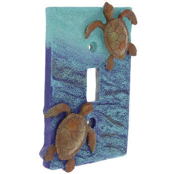 Sea Turtles Single Switch Plate
