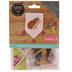 Hedgehog Cross Stitch Wall Flag Kit