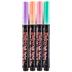 Pastel Colors Fine Point Bistro Chalk Markers - 4 Piece Set
