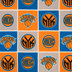 NBA New York Knicks Block Fleece Fabric