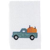 Truck & Pumpkins Scrubsy