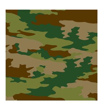 "Simple Camouflage Scrapbook Paper - 12"" x 12"""