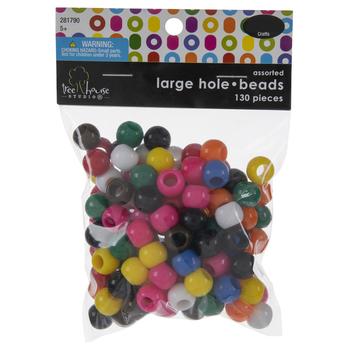 Assorted Round Plastic Beads
