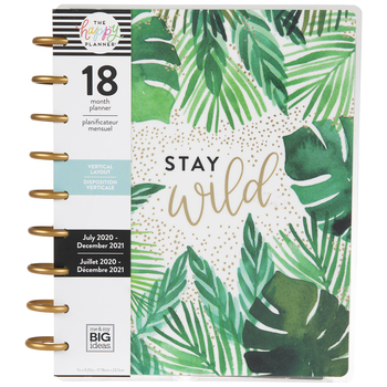 2020 - 2021 Stay Wild Happy Planner - 18 Months