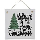 Magic Of Christmas Metal Wreath Embellishment