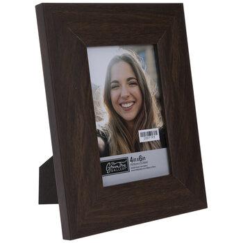 Brown Flat Wood Look Frame