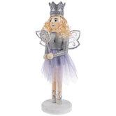 Purple Fairy Princess Wood Nutcracker