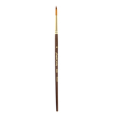 Golden Taklon Round Paint Brush