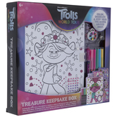 Trolls World Tour Treasure Keepsake Box