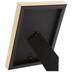 Black & Gold Flat Frame - 4