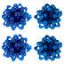 Blue Bows - 4