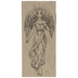 Heavenly Angel Rubber Stamp