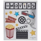 Movie Metallic Stickers