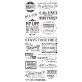 Family Phrases Stickers