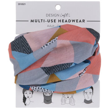 Geometric Multi-Use Headwear