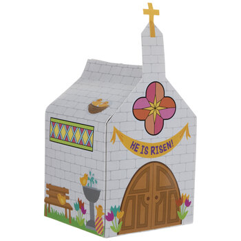 Milk Carton Churches Craft Kit
