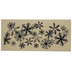 Snowflake Flurry Rubber Stamp
