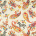 Paisley Jungle Duck Cloth Fabric