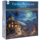 Thomas Kinkade Nativity Scene Puzzle