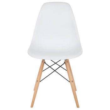 White Molded Chair
