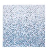 "Pink & Blue Squares Scrapbook Paper - 12"" x 12"""