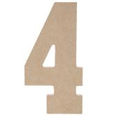 "Wood Number 4 - 5"""