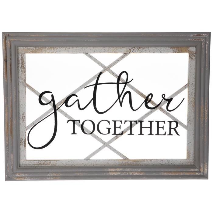 Gather Together Glass Wall Decor Hobby Lobby 1640150