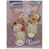 One Step At A Time Wood Wall Decor