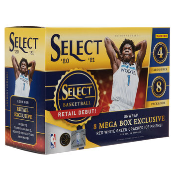 2020-2021 Panini Select NBA Basketball Trading Cards