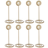 Swirl Top Place Card Holders