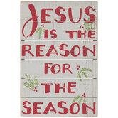 Jesus Is The Reason Wood Decor