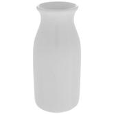 White Milk Bottle Vase