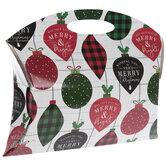 Buffalo Check & Dotted Ornaments Pillow Box