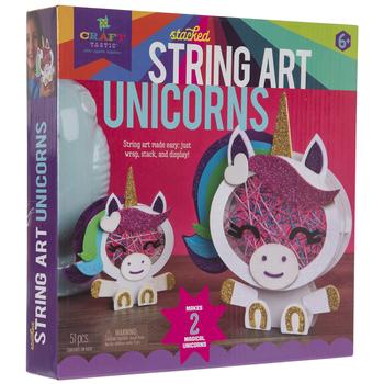 Stacked Unicorns String Art Kit