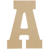 """Wood Letter A - 13"""""""