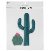 Cactus Iron-On Appliques