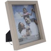 """Beige Block Wood Frame - 8"""" x 10"""""""