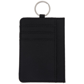 Credit Card Holder With Key Ring