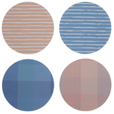 Southern Marsh Pink & Blue Coasters