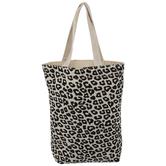 Beige & Black Leopard Print Gift Bag