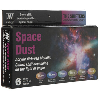 Space Dust Shifters Acrylic Airbrush Metallic Colors
