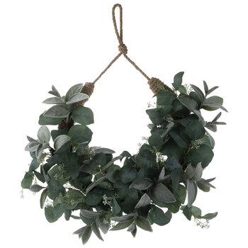 Lambs Ear & Eucalyptus Wreath