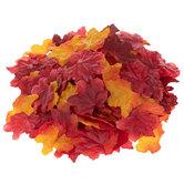 Red & Orange Fall Leaves Confetti