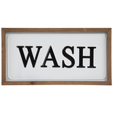 Wash Metal Wall Decor