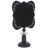 Black & White Ornate Chalkboard